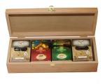 Чай в деревянной шкатулке
